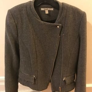 "Grey Zara ""Trafaluc"" Blazer Size Medium"